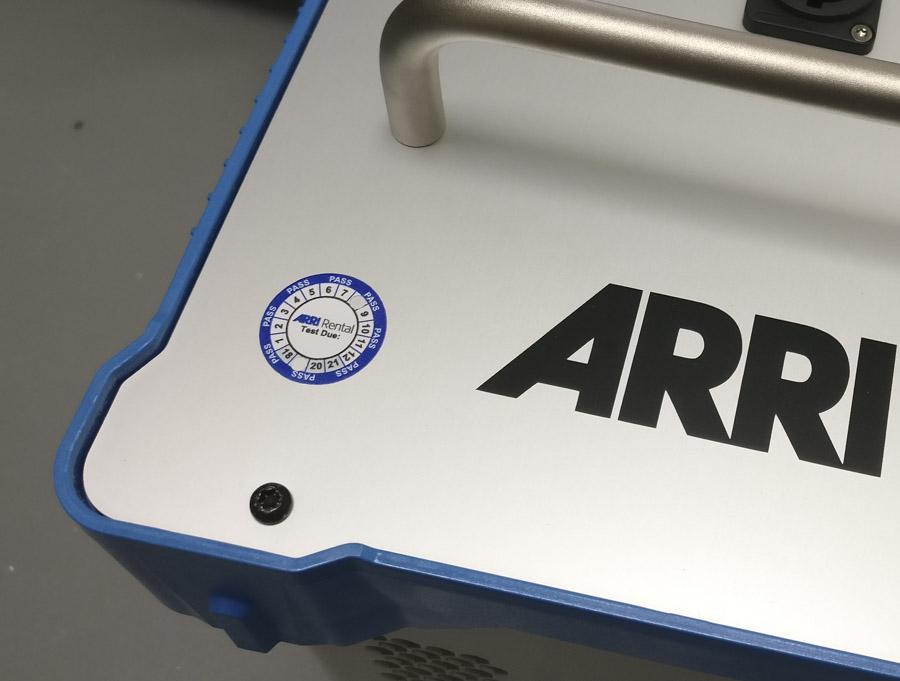 Custom Printed Equipment Label
