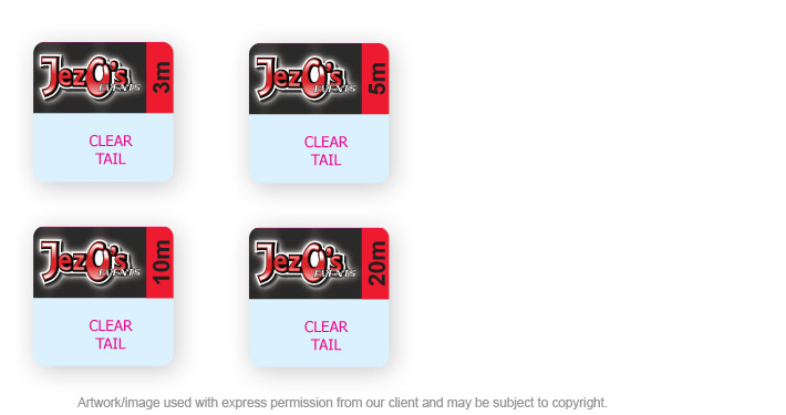Cable Labels for Jezo's Events