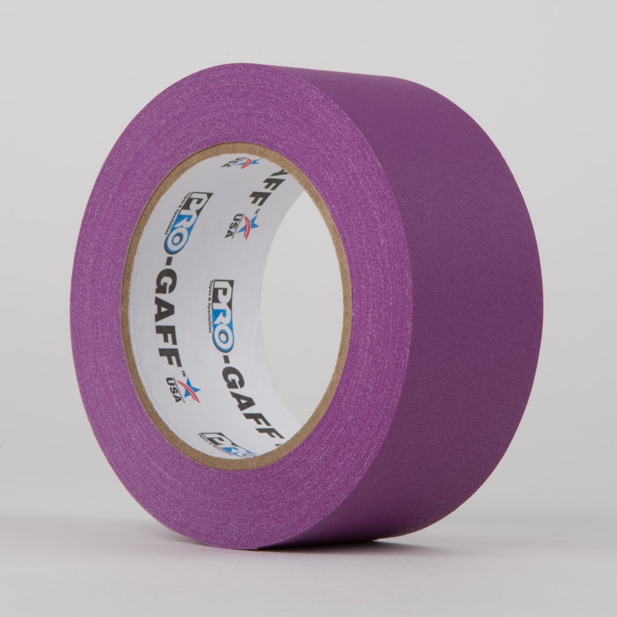 PURPLE - ProTapes Pro Gaff Gaffer Tape
