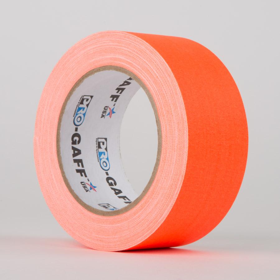 ORANGE - ProTapes Pro Gaff Fluorescent Gaffer Tape