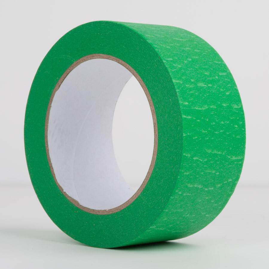 crepe paper masking tape 48mm green le mark group. Black Bedroom Furniture Sets. Home Design Ideas