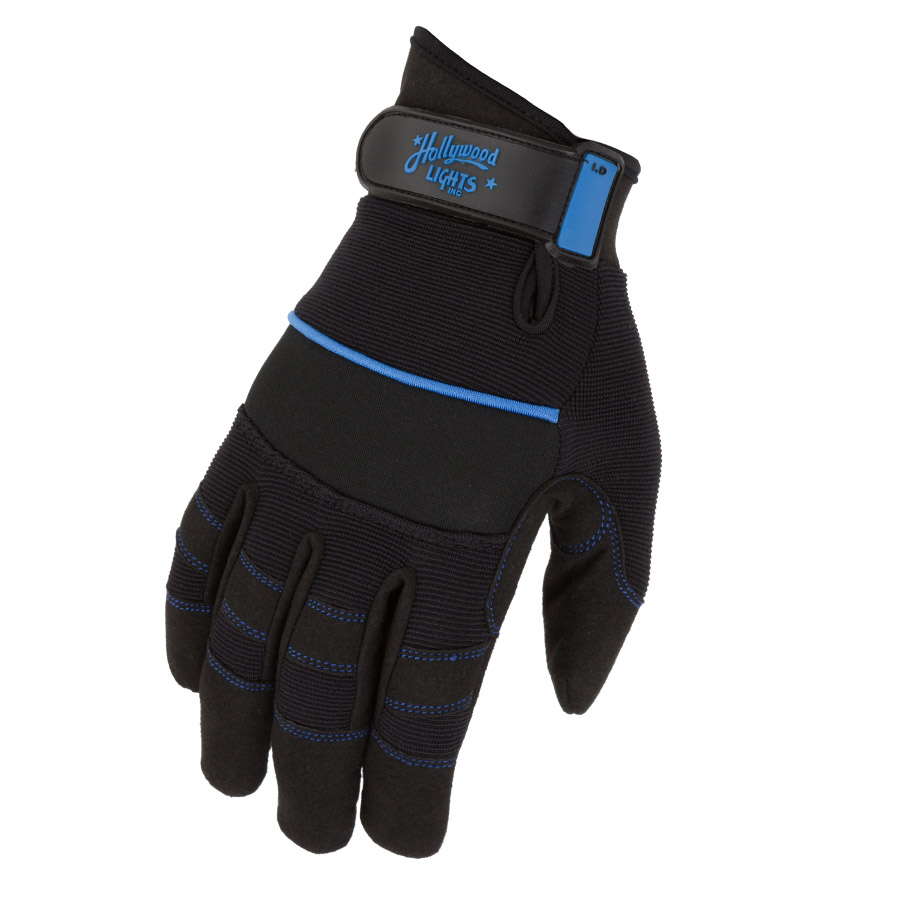 Dirty Rigger Comfort Fit Rigger Gloves Custom Printed for Hollywood Lights Inc.