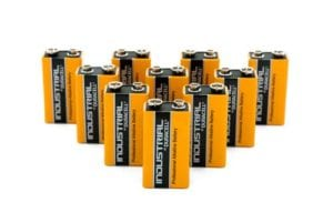 Duracell Industrial 9V Batteries