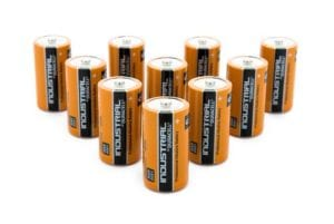 Duracell Industrial C-Size Batteries