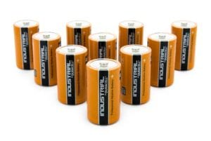 Duracell Industrial D-Size Batteries