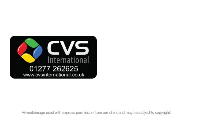 Equipment Labels for CVS International
