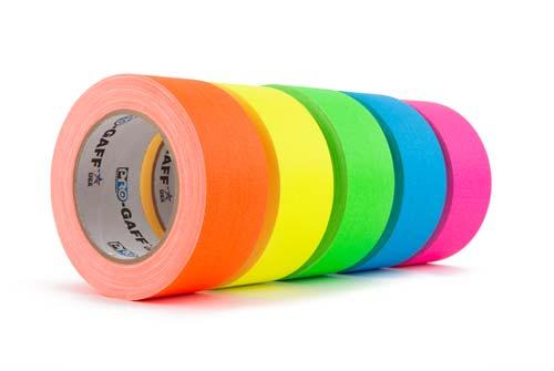 Fluorescent Gaffer Cloth Tape