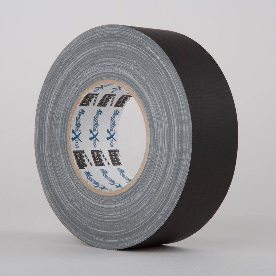 BLACK - MagTape® Xtra Matt Gaffer Tape