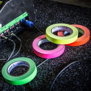 Fluorescent Gaffer Tapes