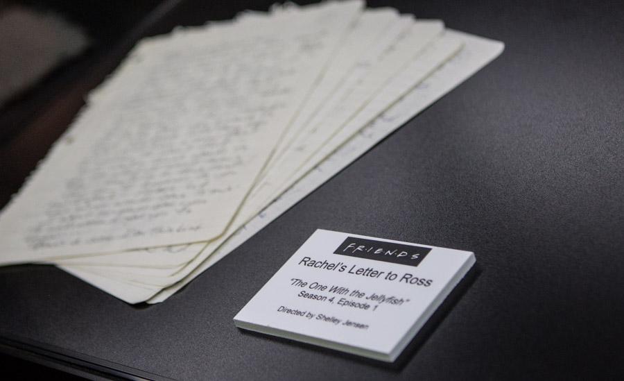 Rachel's letter to Ross!