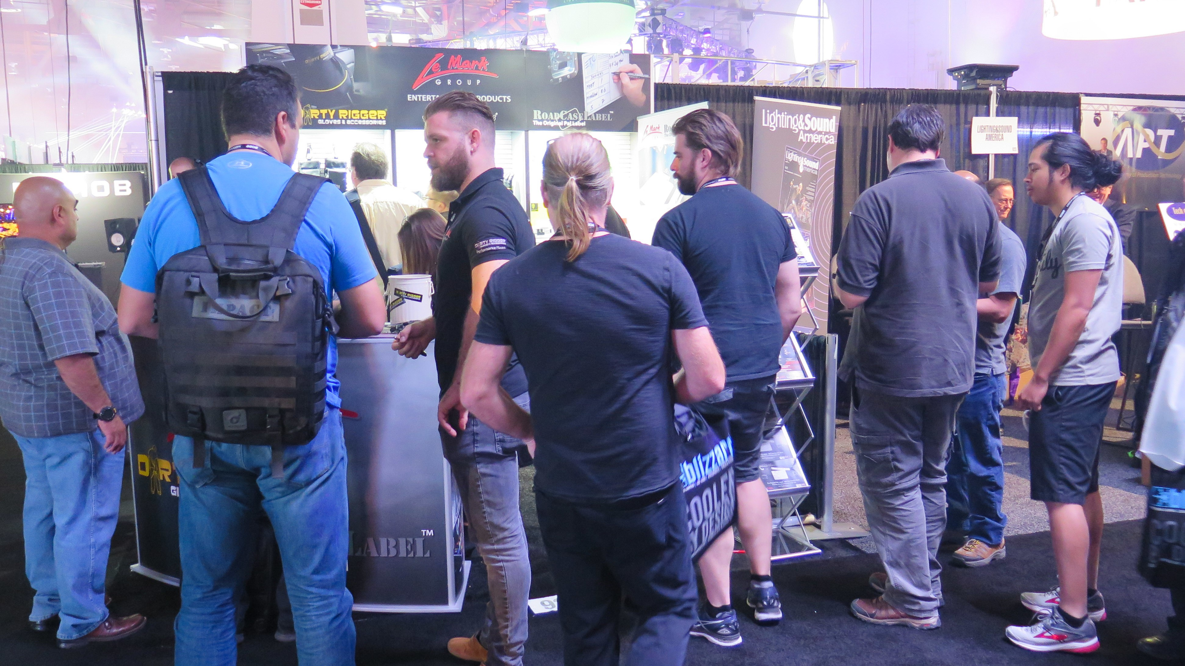 A busy stand as always at LDI