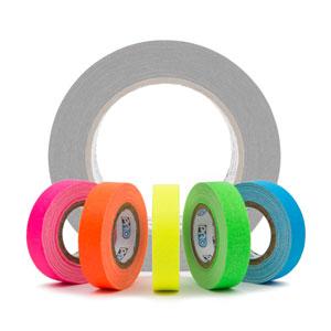 Fluorescent Gaffer Tape Mini Rolls