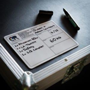 PAL Road Case Label