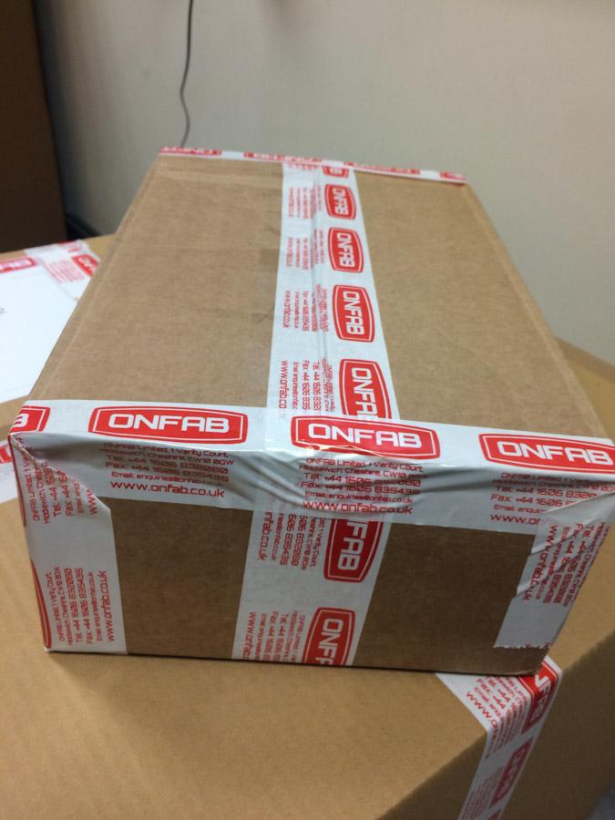 Custom Printed Tape for ONFAB