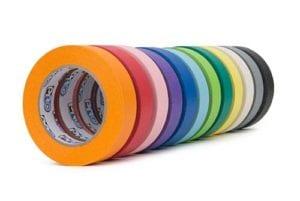 Pro46 Crepe Paper Tape Colour Range