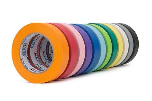 Pro46 Crepe Paper Tape Colour Range Le Mark Group