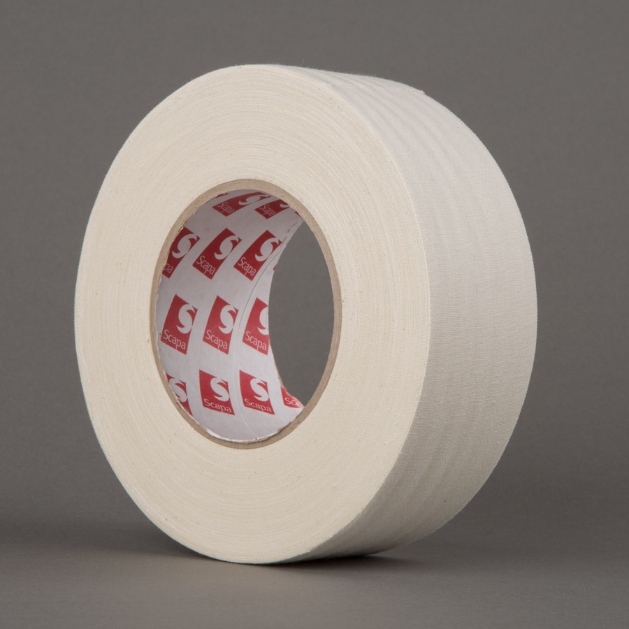 Unbleached Cotton Cloth Tape (50mm)
