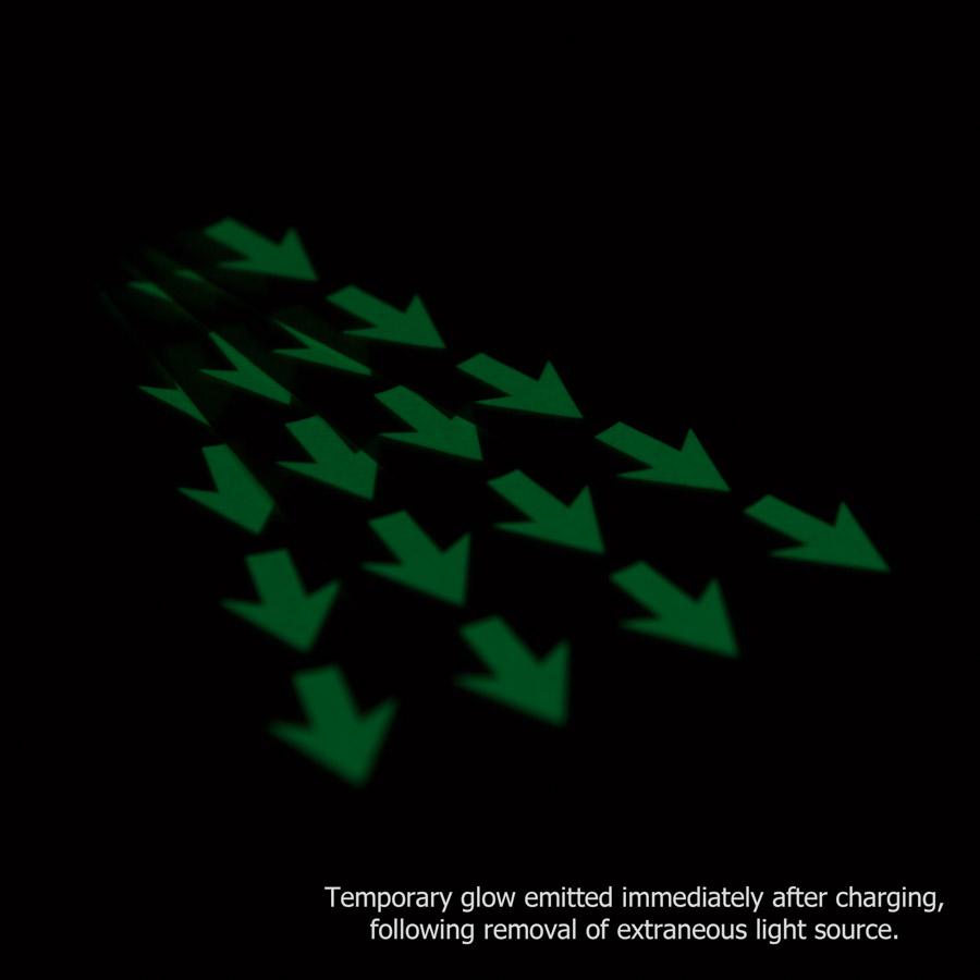 Photoluminescent Glow Arrows Le Mark Group
